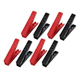 uxcell 4 Pairs Emergency Alligator Clamps Booster Battery...