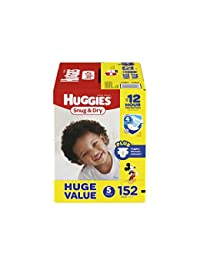 HUGGIES Snug & Dry Diapers, Size 5, 152 Count (Packaging May Vary) BOBEBE Online Baby Store From New York to Miami and Los Angeles