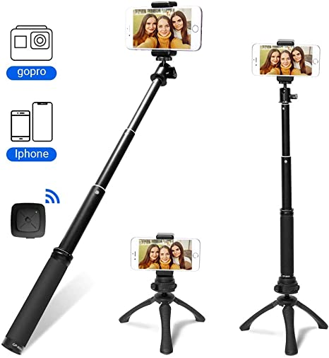 Fotopro Palo Selfie para Gopro, Selfie Stick con Mini Trípode ...