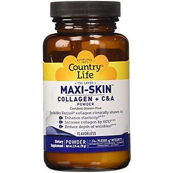 Country Life Maxi Skin Powder, 2.74 oz