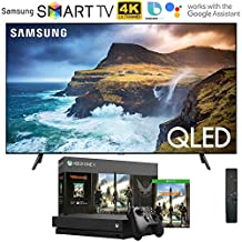 "Samsung QN75Q70RA 75"" Q70 QLED Smart 4K UHD TV (2019 Model) with Microsoft Xbox One X 1TB Console Bundle"