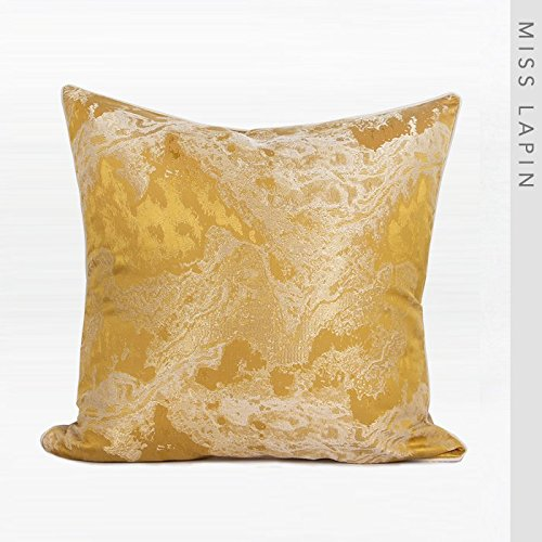 Vaevanhome Sofa Bedside Cushions Cushions Pillow Yellow Abstract Graphics Jacquard Square Pillow ()