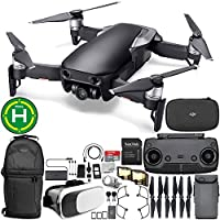 DJI Mavic Air Drone Quadcopter (Onyx Black) Virtual Reality VR FPV POV Experience Starters Bundle