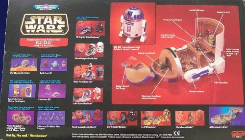 Star Wars MicroMachines Transforming Action Set R2-D2// Jabbas Palace