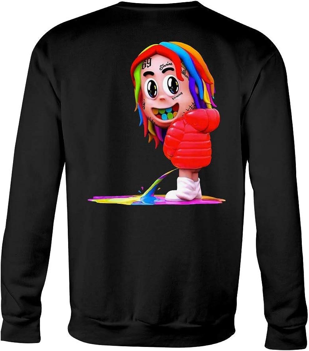 6ix9ine American Rapper GOOBA Daniel Hernandez Tekashi69 Hip Hop rapero 69 Graphic Shirt Sweatshirt Shirts