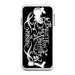 Samsung Galaxy S4 9500 phone case White Bullet For My Valentine RRTY7520166