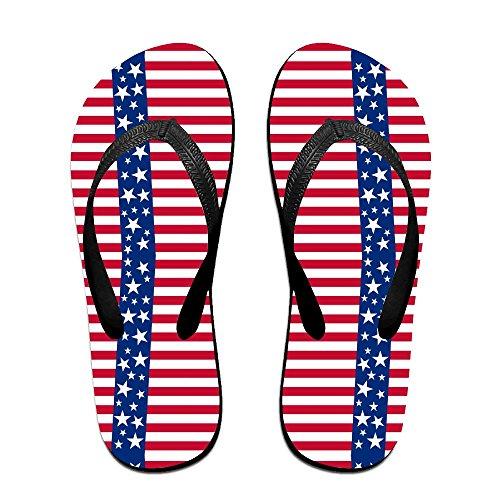 FPDragon Blue Candy Stripe 看图王 Unisex Soft Flip-flops Beach Sandals Slippers Classical Thong - Sale Havianna