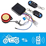 shsyue Motorcycle Bike Anti-Theft Security Alarm System Remote Control Engine Start 125dB