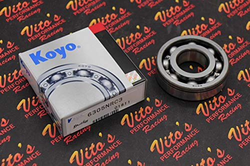 (Vito's Performance 1 x Genuine KOYO 8 Ball Bearing Main crankshaft Crank Yamaha Banshee - New)