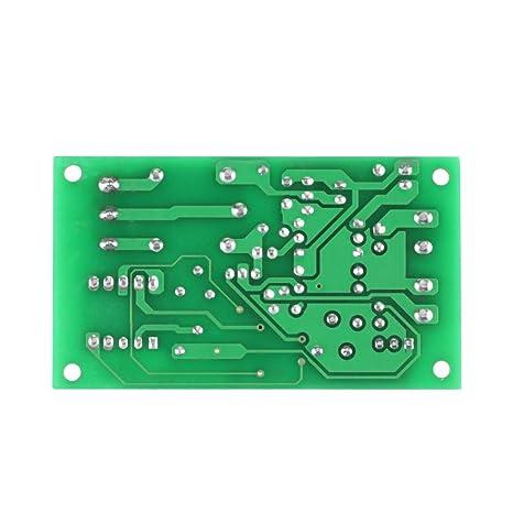 DC12V Pantalla LED Digital Temporizador de Retardo Interruptor de ...