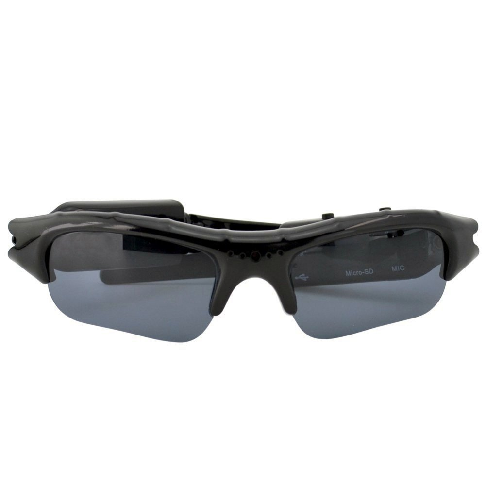 UYIKOO Multi-function Eyewear Pinhole Video Recorder DVR Sunglasses Camera w/ Free 4GB SD Card [並行輸入品] B01KBRBSUC