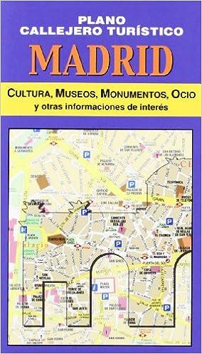 Plano callejero turístico de Madrid: Amazon.es: AA.VV.: Libros