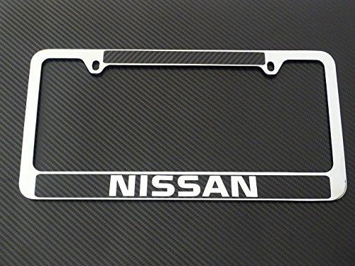 nissan altima license plate frame - 4