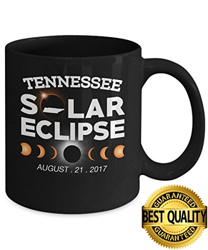 Best Quality  Circle Total Solar Eclipse Tennessee Mug  August 21 2017  11 Ounces Sized  By Stormcool