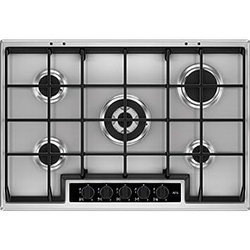 meilleur service 7a73f d3e0a AEG-Electrolux HG 755450 SY Plaque de cuisson à gaz de 75 cm ...
