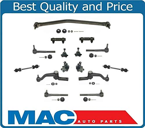 Mac Auto Parts ASTRO VAN & SAFARI 90-05 4x4 All Wheel Drive Set of Front Steering and Suspension Kit 13pc