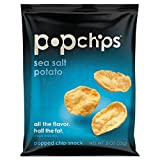 Popchips Popchips Sea Salt- 24 - 0.8 oz (23g) bags