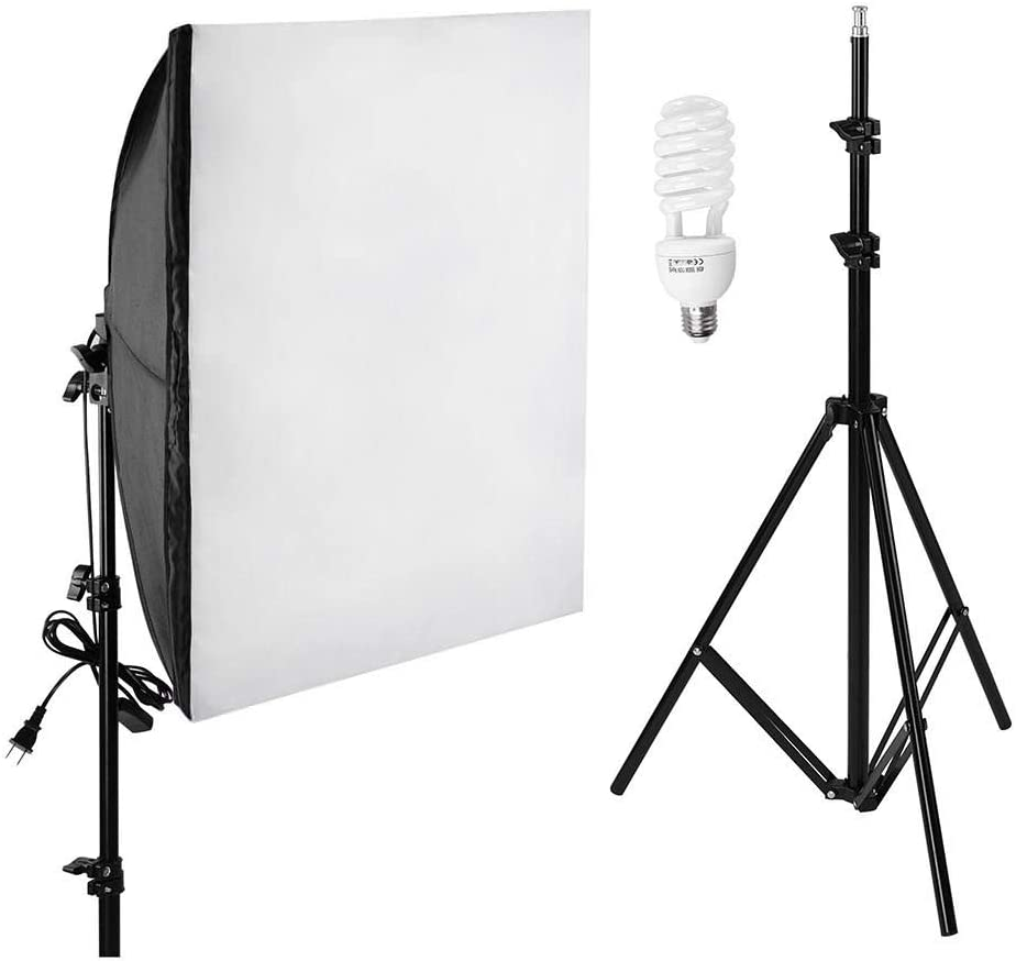Photo Studio 22 in Softbox Lighting Kit Tripod Boom Arm