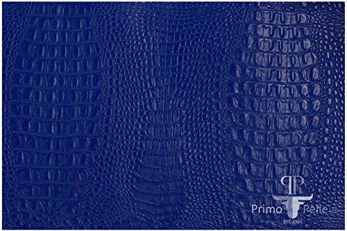 Embossed Grain (PRIMO PELLE leather hides, CROCODILE Collection, genuine full grain embossed cow skins! various colors & sizes. [8.5