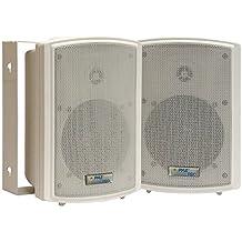 Pyle-Home Pdwr5t 5.25-Inch Indoor, OutdoorWaterproof Speakers with 30-Watt 70v Transformer