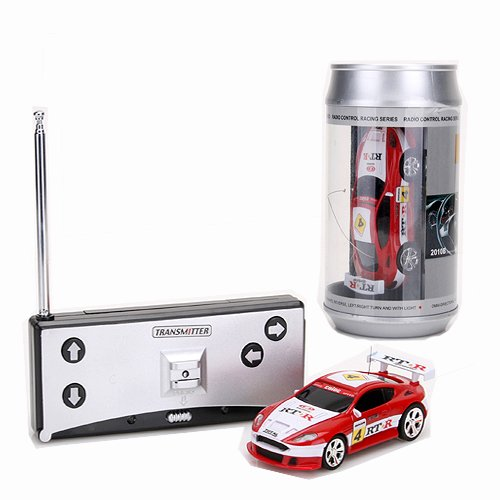 coke can mini rc radio remote control micro racing car. Black Bedroom Furniture Sets. Home Design Ideas