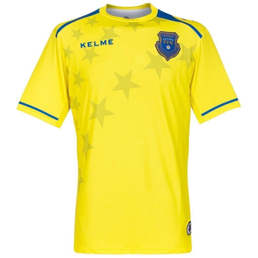 Kosovo 3rd Camiseta 2017 2018, Hombre, Amarillo, Extra-Large: Amazon.es: Deportes y aire libre