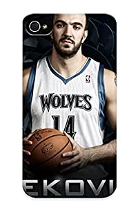 Case Provided For Iphone 4/4s Protector Case Minnesota Timberwolves Nba Basketball (18) Phone Cover With Appearance wangjiang maoyi