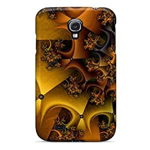 S4 Scratch-proof Protection Case Cover For Galaxy/ Hot Fractal 3d Phone Case