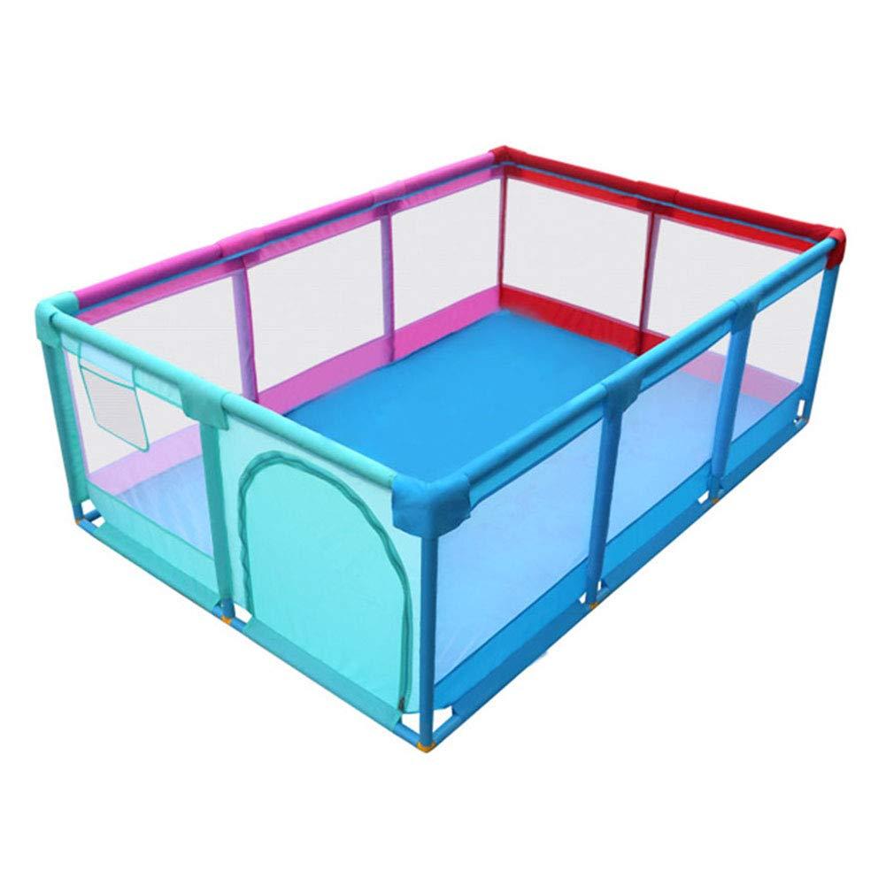 新しいコレクション 大人の赤ちゃんの遊び場子供アクティビティセンター安全プレイヤードホーム屋内屋外、男の子女の子の安全折り畳まれた幼児ホームフェンス B07KR3C78S、多色 B07KR3C78S, あきばU-SHOP:38fc2eab --- a0267596.xsph.ru