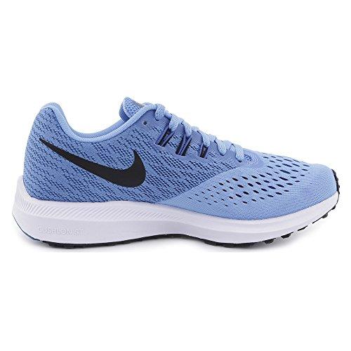 Jay Blue Wmns Mujer Zapatillas 4 Para University Running black white Nike De blue Winflo Zoom UxvTdOT