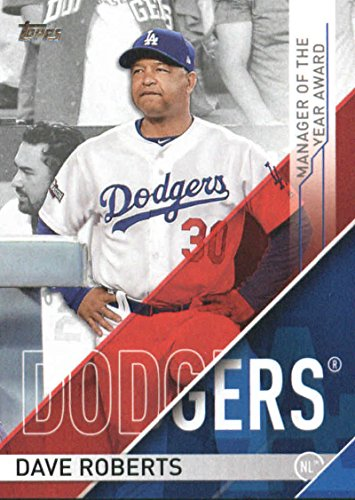 2017-topps-series-1-mlb-awards-manager-of-the-year-moy-2-dave-roberts-dodgers
