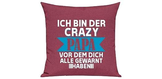 Camiseta Stown sofá cojín, ich Bin Der Crazy Papa Antes ...