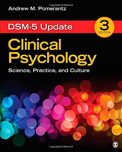 Clinical Psychology Science Practice and Culture DSM 5 Update