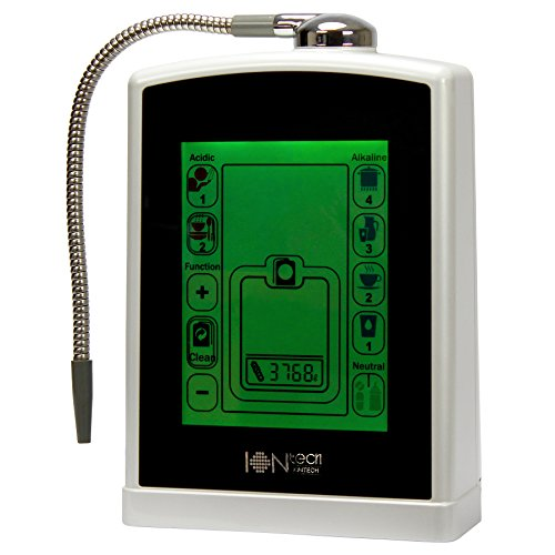 IONtech IT-588 Luxury Alkaline Water Ionizer Machine 7 pH Water Levels Japan Made Platinum Titanium Electrolysis Plates USA Made NSF Certified Activated Carbon Filter PH Test Included by IntelGadgets (Image #1)