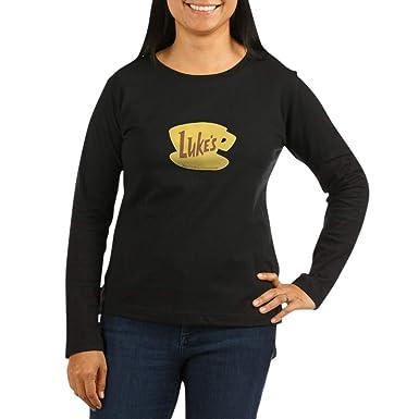 8de14ecb CafePress Lukes Diner Long Sleeve T-Shirt Women's Long Sleeve T-Shirt,  Classic