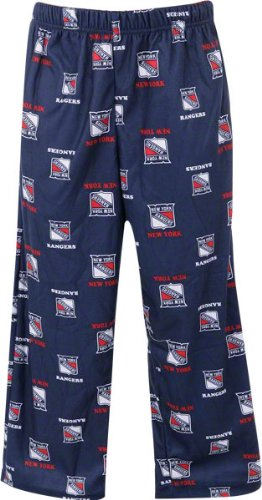 New York Rangers Navy Kids (four-7) Printed Pants – DiZiSports Store