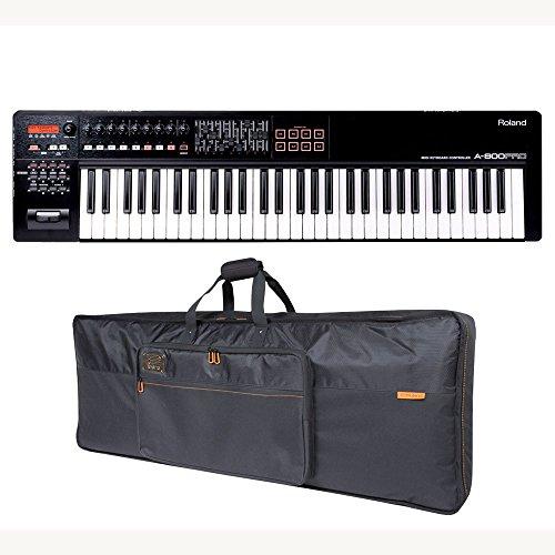 Roland A-800PRO 61-key MIDI Keyboard Controller Roland Black Series Keyboard Bag Bundle