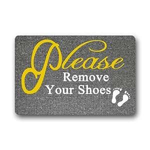 Generic Please remove your shoes Felpudo (76,2cm por 45,7cm)