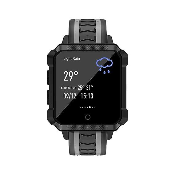 NAVIFORCE H7 4G Smart Android Reloj Teléfono 1.54 Pulgadas de Pantalla Cuadrada RAM 1G + ROM 8G WiFi GPS SIM Smartwatch: Amazon.es: Relojes