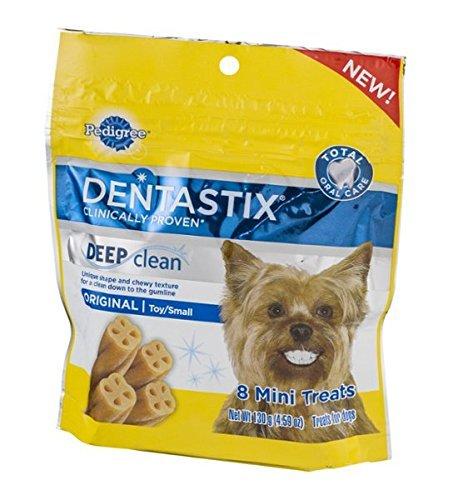 Pedigree Dentastix Deep Clean Mini Small Dog Treats Original - 8 CT (Dentastix Deep Clean Mini compare prices)