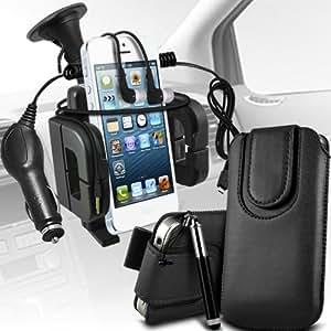 Nokia Lumia 920 premium protección PU botón magnético ficha de extracción Slip espinal en bolsa de la cubierta de piel de bolsillo rápido con aguja retractable de la pluma y universal de bicicletas Bike Mount Soporte ajustable de soporte Base del manillar de soporte 360 ??grados de rotación Negro por Spyrox