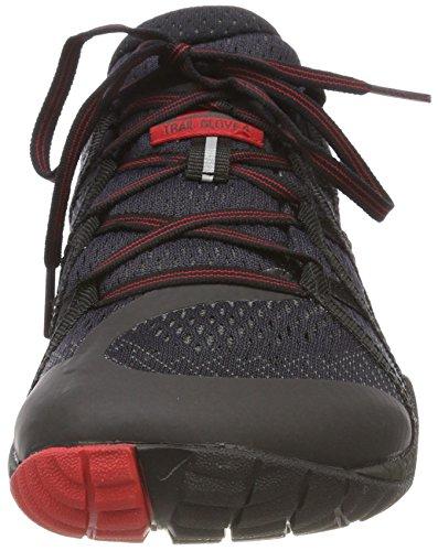 sentier 4 Chaussures noir Mesh Merrell E course Glove de Men's sur Noir OwF6t