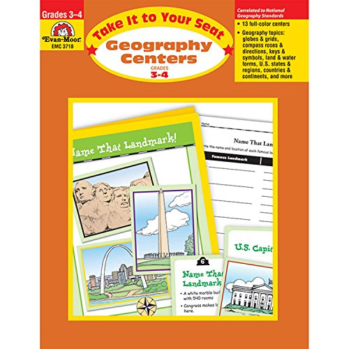 Geography Centers, Grades 3-4 -