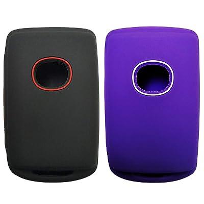 2x Coolbestda Smart Key Fob Remote Cover Case Skin Jacket Keyless Entry For 2020 2020 Mazda 3 WAZSKE11D01: Automotive