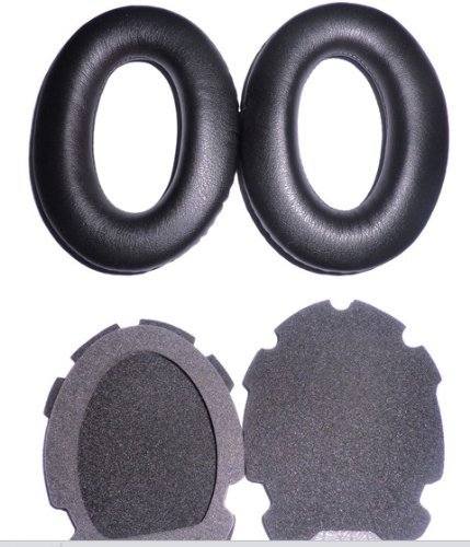 Headphones Ear Pads Cushion Replacement for Bose Ear Pads Aviation Headset X A10 A20 Headphone Replacement Earpad Ear (Bose Aviation Headset)