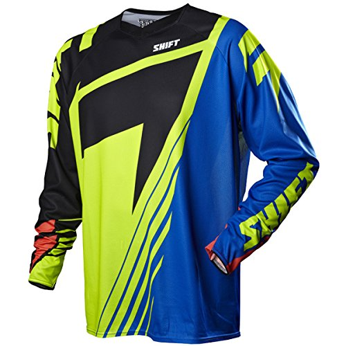 (Shift 07015-019-M Reed Faction LE Jersey, Gender: Mens/Unisex, Primary Color: Black, Size: Md, Distinct Name: Black/Yellow )