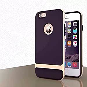 Rock TPU PC Shockproof Environmental Back Case Cover For iPhone 6