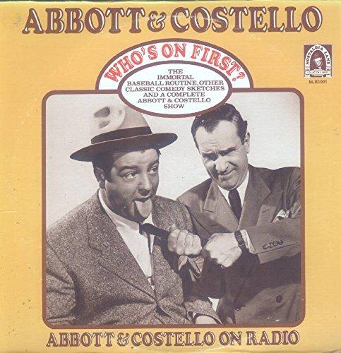 Abbott Costello Whos On First LP VG USA Nostalgia Lane NLR 1001