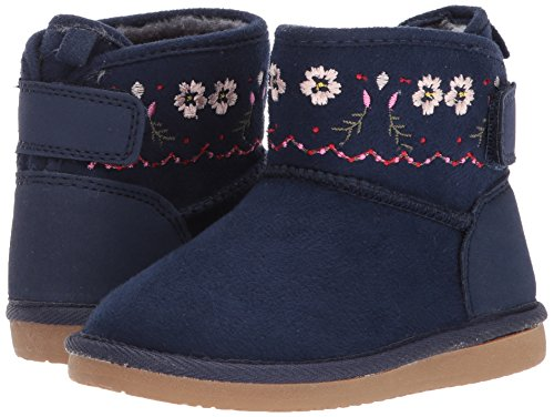 Pictures of Carter's Girls' Tiana Fashion Boot Navy Navy 9 M US Toddler 4