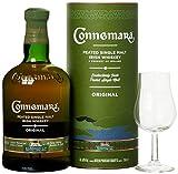 Connemara Irish Peated Malt mit Geschenkverpackung Glas Whisky (1 x 0.7 l)